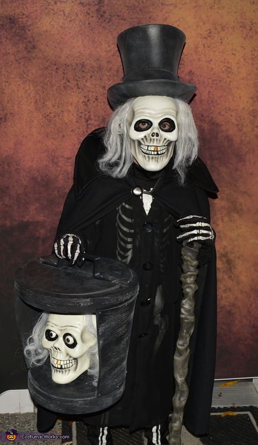 The Hatbox Ghost Costume