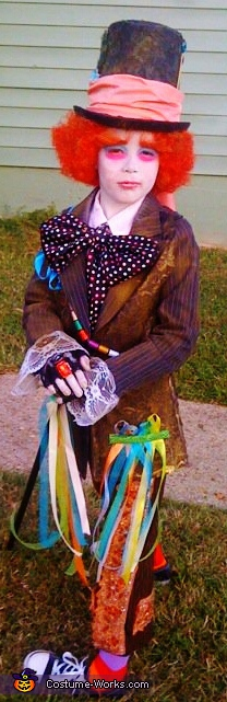 the hatter!. Mad Hatter & Crazy Rabbit - Homemade costumes for kids