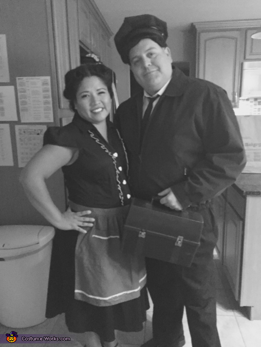 Ralph and Alice, The Honeymooners Costume