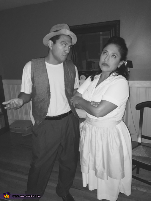 Trixie and Norton, The Honeymooners Costume
