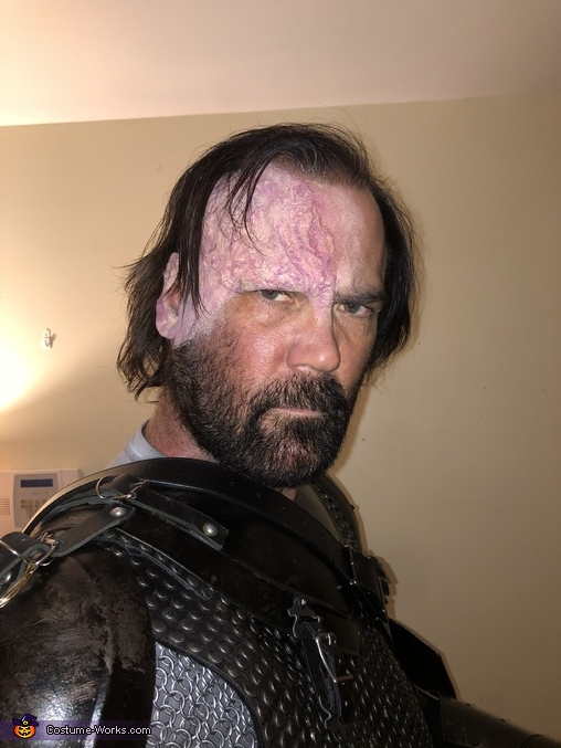 What are you looking at?, The Hound aka Sandor Clegane Costume