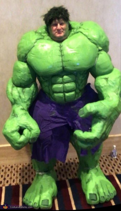 The Hulk Homemade Costume