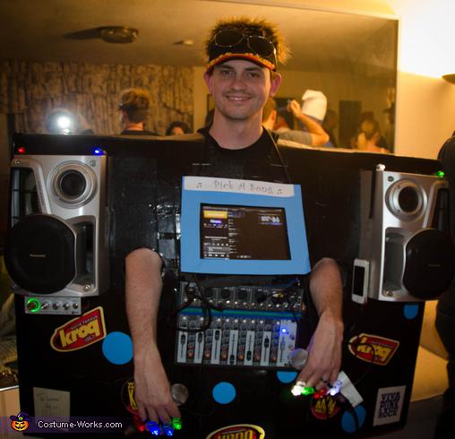 Human Karaoke Machine Homemade Halloween Costume | Easy