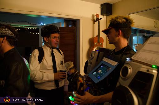 The Human Karaoke Machine Costume