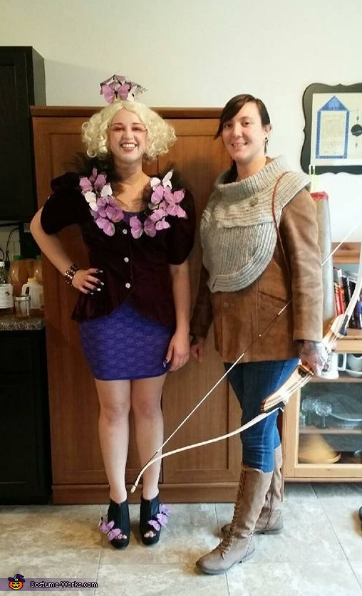 Katniss and Effie Costume