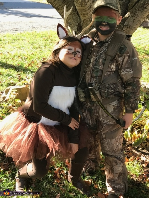 The Hunt for the Baby Buck Costume