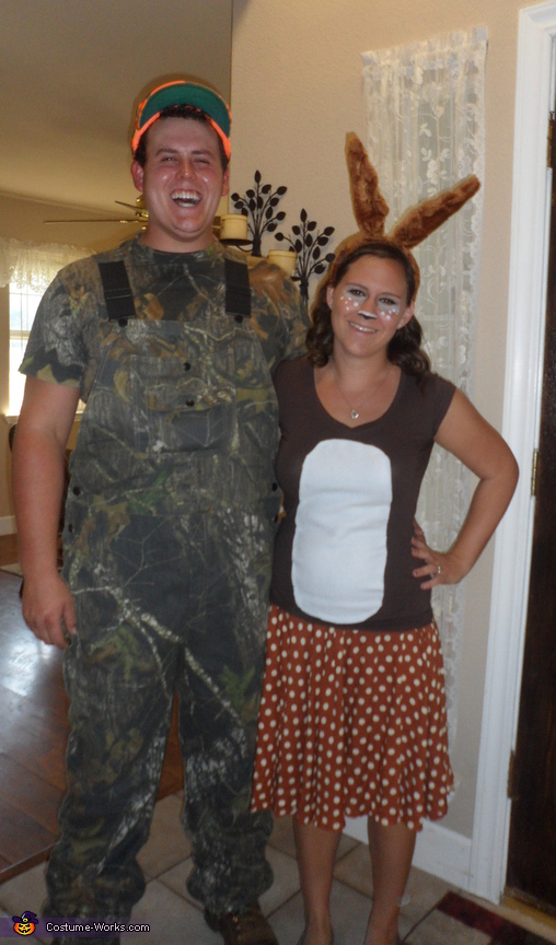 The Hunter and Deer Couple Costume