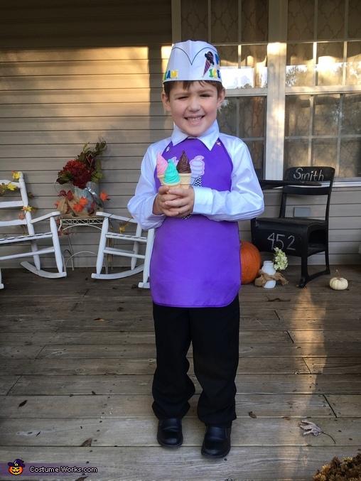 The Ice Cream Man Homemade Costume