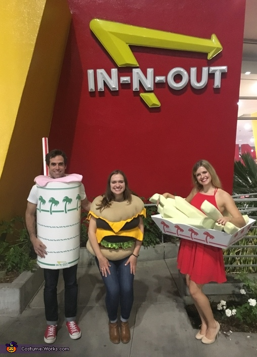The In N Out Burger Number One Costume