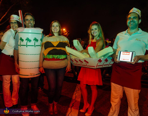 The In N Out Burger Number One Homemade Costume