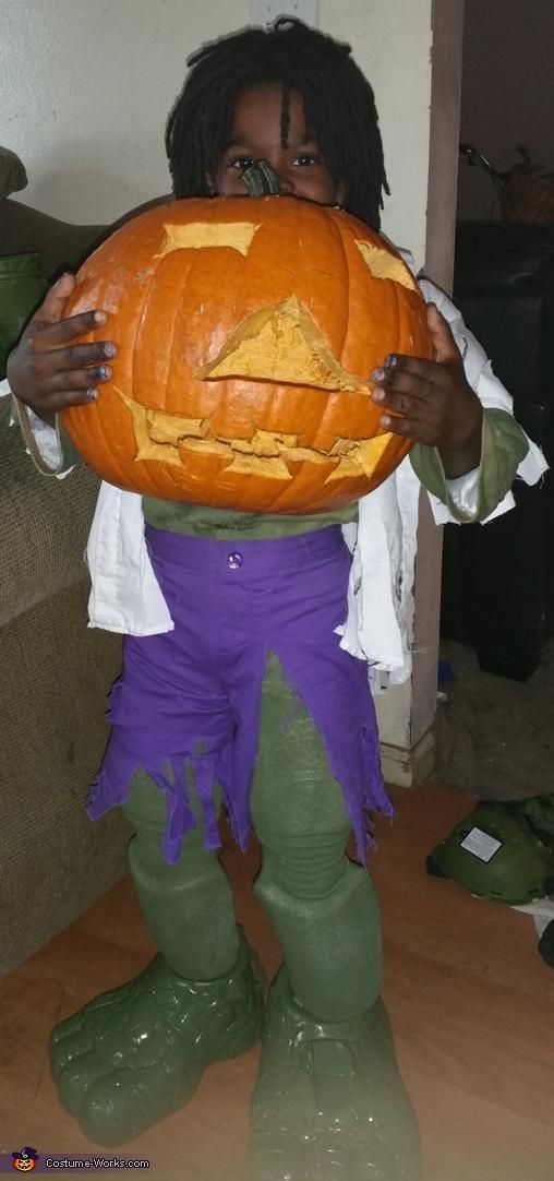The Incredible Hulk Homemade Costume