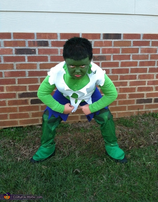 You're making me angry!!!!, The Incredible Hulk Costume