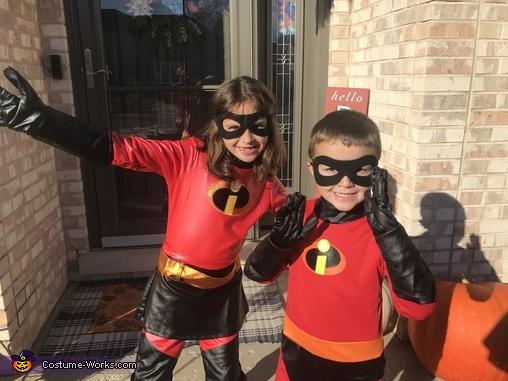 Incredible & cute kids, The Incredibles Costume