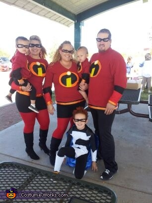 & The Incredibles Family Costume