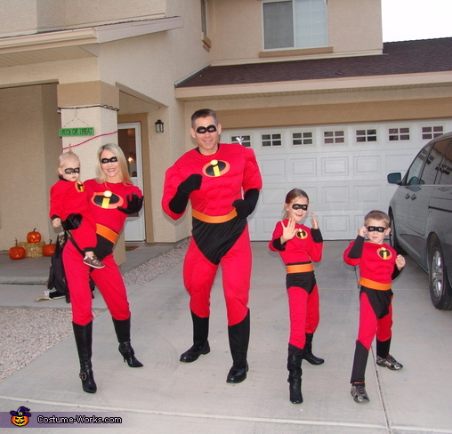 The Incredibles Movie Family Costume & The Incredibles Movie Family Costume Idea - Photo 2/3