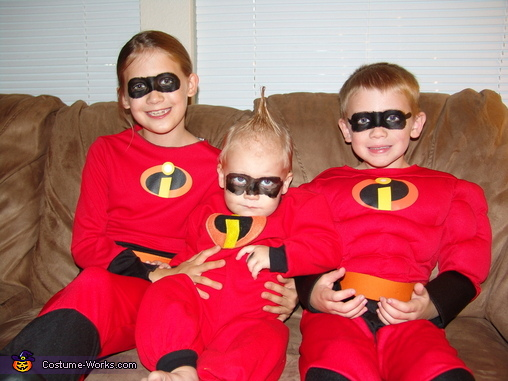 The Incredibles Movie Family Costume