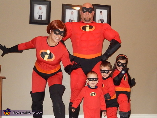 The Incredibles!!!, The Incredibles Family Costume
