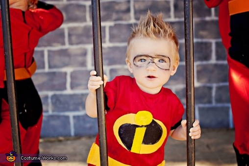 Baby jack jack costume , The Incredibles Family Costume