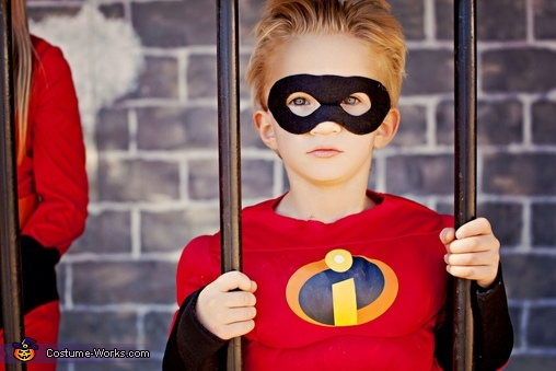 Dash costume, The Incredibles Family Costume
