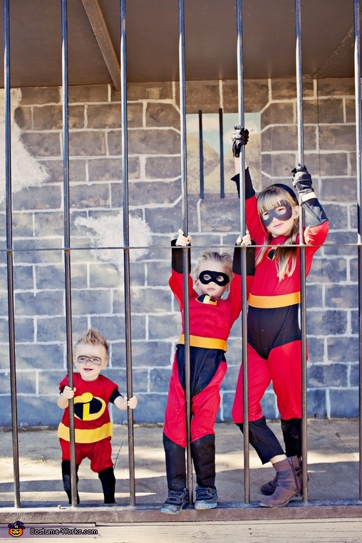 Incredibles kids costumes , The Incredibles Family Costume