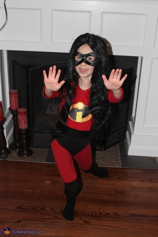 Violet, The Incredibles Family Costume