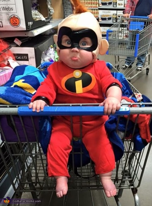 The Incredibles Jack Jack Baby Costume