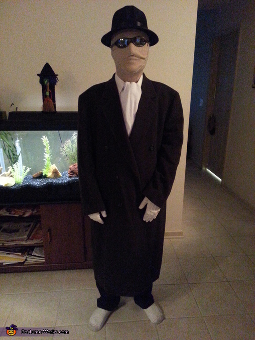 The Invisible Man Homemade Costume