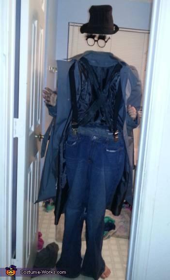 The Invisible Man Illusion Costume