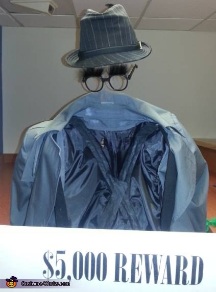 The Invisible Man Illusion Costume