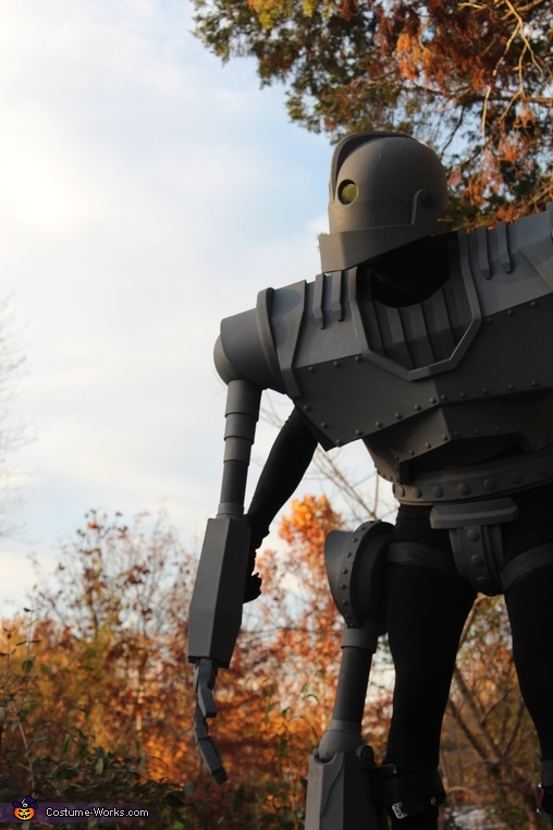 pondering, Iron Giant Costume