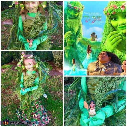 The Island of Te Fiti from Moana Homemade Costume