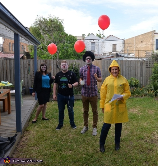 The IT Crowd Homemade Costume