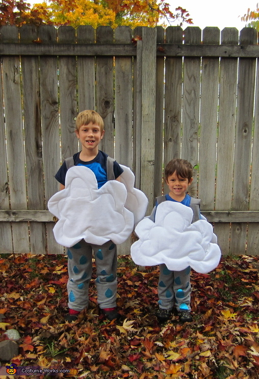 Rain cloud brothers, The Itsy Bitsy Spider Costume