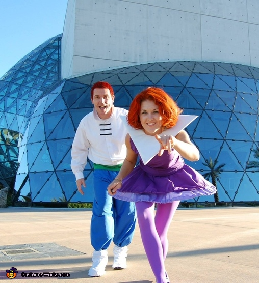 Jane and George Jetson, The Jetsons Family Costume