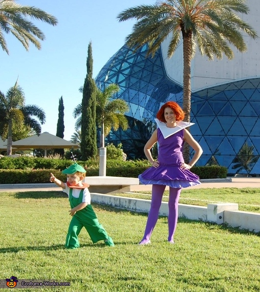 Jane and Elroy Jetson, The Jetsons Family Costume
