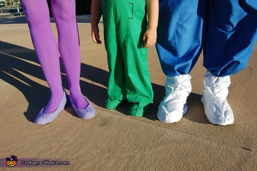 The Jetson's space shoes, The Jetsons Family Costume