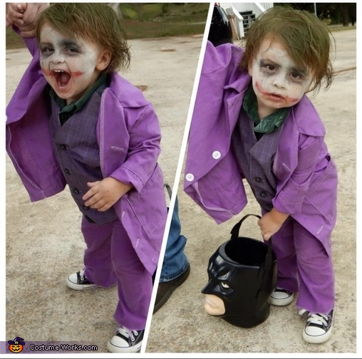 The Joker Homemade Costume