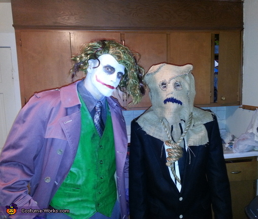 Joker and Scarecrow, The Joker Costume