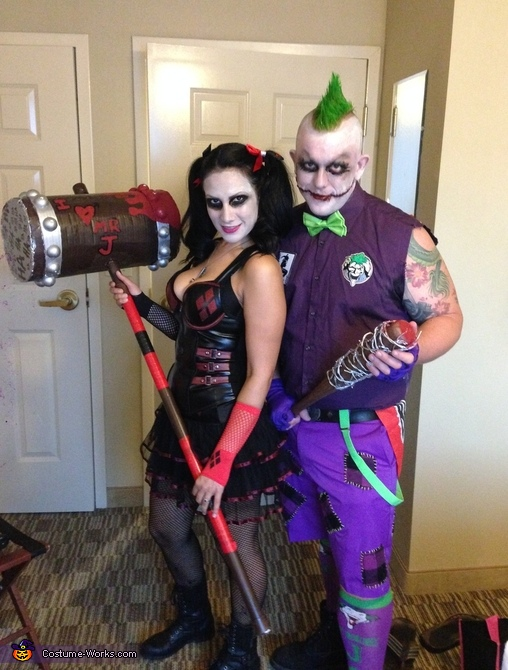Joker and Harley Quinn, The Joker Costume