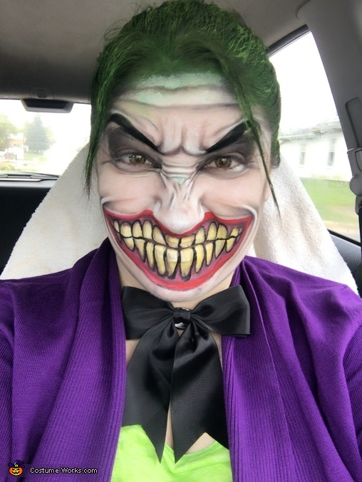 The Joker Homemade Costume