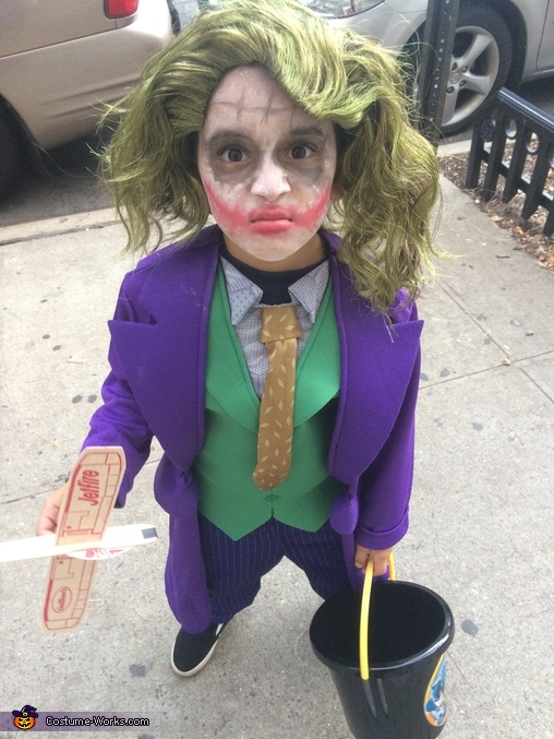Boy's The Joker Costume