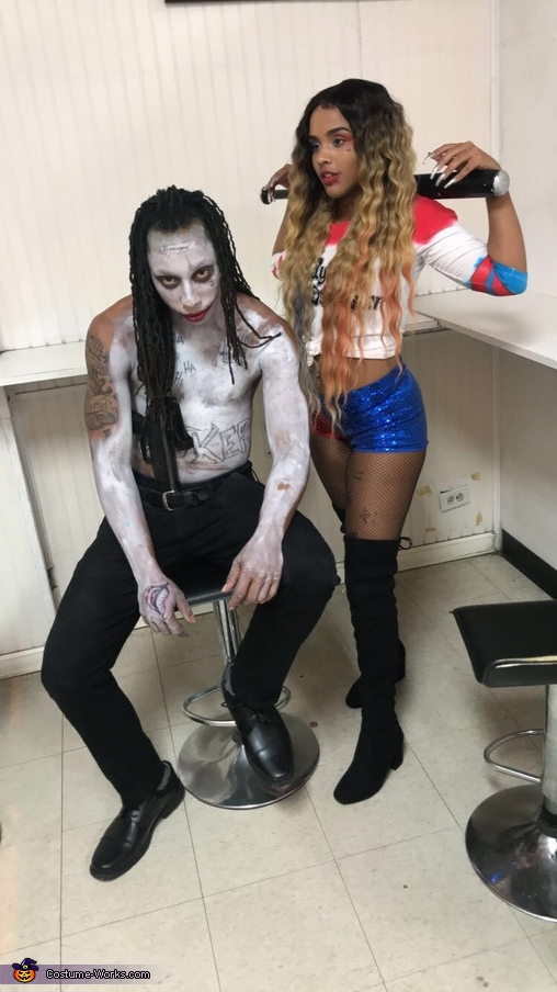 Come on, Puddin'. Do it!, The Joker and Harley Quinn Costume