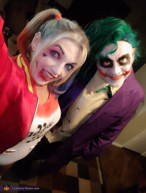 The Joker and Harley Quinn Costume