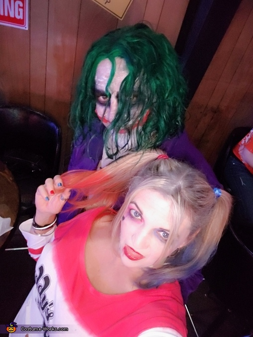 The Joker and Harley Quinn Costume - Last Minute Costume Ideas - Photo 2/5
