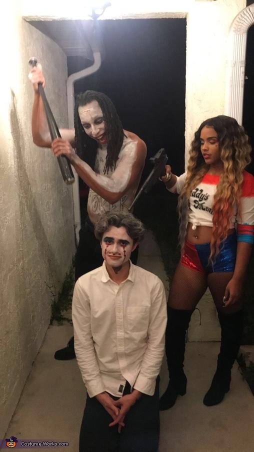 You don't want no beef? You don't want no beef?, The Joker and Harley Quinn Costume