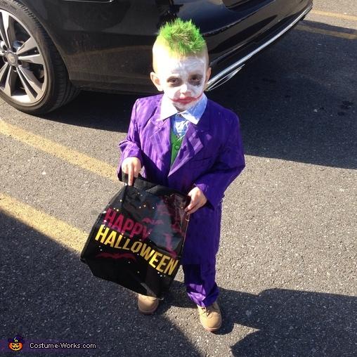 The Joker Baby Costume