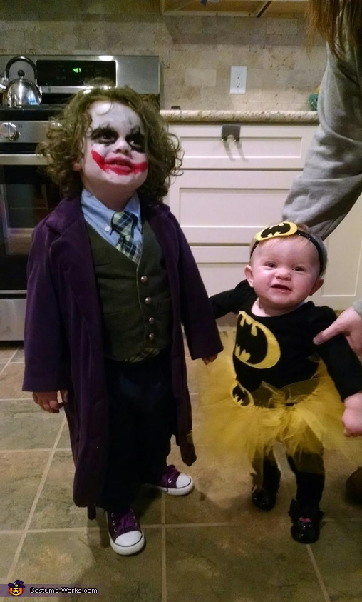 The Joker & Bat Baby Costume
