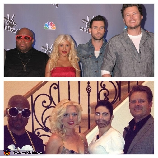 The Judges of The Voice, The Judges of NBC's The Voice Costume