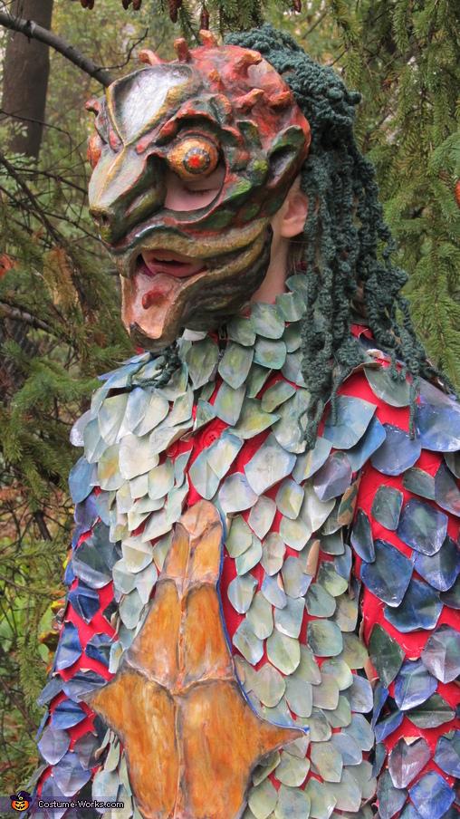 Mask side, The Kappa Costume