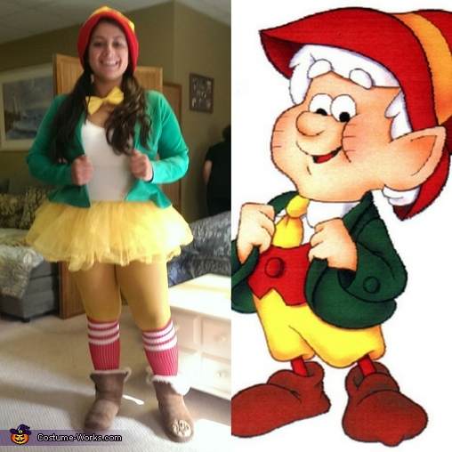 Comparison keebler elves, The Keebler Elf Costume